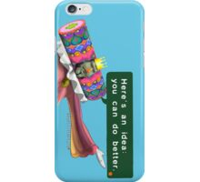 """Katamari- King of all Cosmos """"Here's an idea: You can do better.""""  iPhone Case/Skin"""