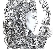 Elven Queen by jankolas