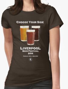 Beer Festival Concept Womens Fitted T-Shirt