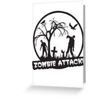 Zombie Attack! Greeting Card