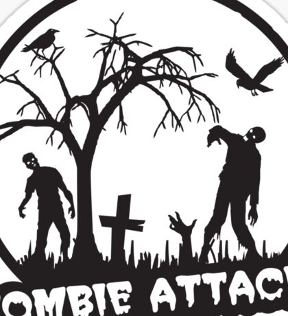 Zombie Attack! Sticker