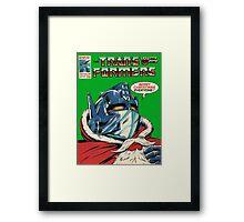 Merry Christmas Transformers Framed Print