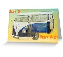 VW Beach Party Greeting Card