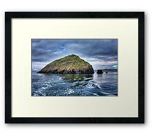 Galta Mor - Shiant Islands Framed Print