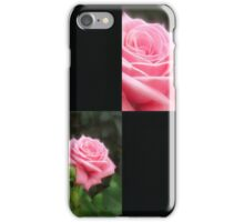 Pink Roses in Anzures 3 Blank Q2F0 iPhone Case/Skin