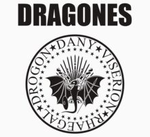 DRAGONES black by karlangas
