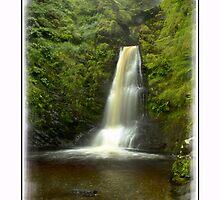 Pistyll Rhaeadr Waterfall in Mount by DavidWHughes