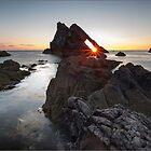Bow Fiddle Rock Sunrise by Andrew Watson