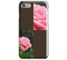 Pink Roses in Anzures 3 Blank Q3F0 iPhone Case/Skin