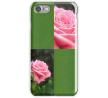 Pink Roses in Anzures 3 Blank Q5F0 iPhone Case/Skin