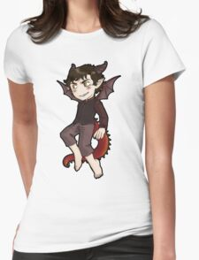 Smaug, you're smiles looks suspicious! Womens Fitted T-Shirt