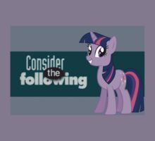 Twilight Sparkle Consider the following by Chano Real