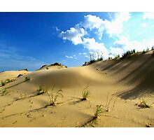 Sand Dunes, North Carolina Photographic Print
