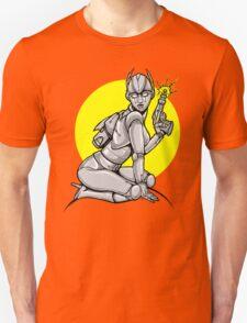 Robot Pinup Unisex T-Shirt