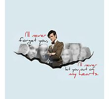 The Doctor and his Companions Photographic Print