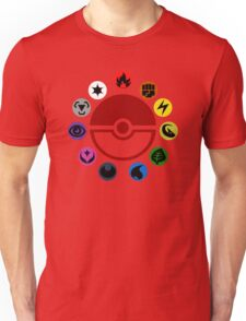 Pokemon TCG Types Unisex T-Shirt