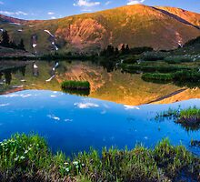 Loveland Pass inn Reflection by Paul Gana
