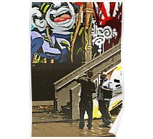 Urban art gallery Poster