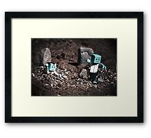Zombies Toys Framed Print