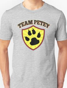 Team Petey - The Petey Project - Help Fund Dog & Cat Rescue Efforts - Non-Profit, No Kill Shelter AARF T-Shirt