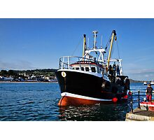 New Seeker Coming Into Harbour Photographic Print