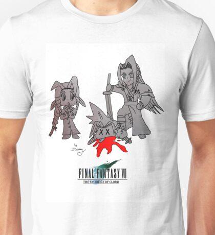 Sephiroth Kills Cloud - Sacrifice Of Cloud Unisex T-Shirt