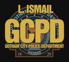 Custom Gotham Police - L. Ismail Kids Clothes