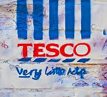 Tesco- very little help! by Tim Constable