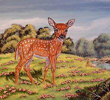 Bambi by WildestArt