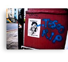 Bristol street art Canvas Print
