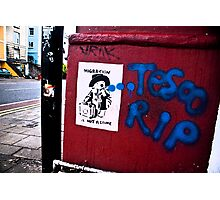 Bristol street art Photographic Print