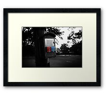 Emergency Framed Print