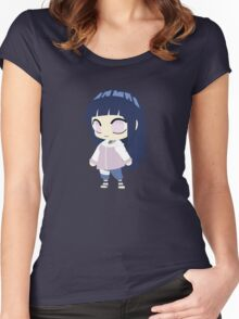 Hinata Hyuuga Chibi Women's Fitted Scoop T-Shirt