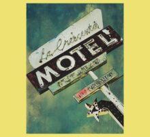 La Crescenta Vintage Motel Sign Baby Tee