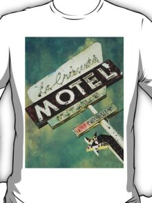 La Crescenta Vintage Motel Sign T-Shirt