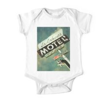 La Crescenta Vintage Motel Sign One Piece - Short Sleeve