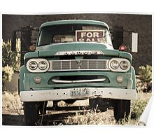 Antique Dodge Truck Poster