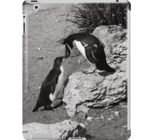 Penguin greetings iPad Case/Skin