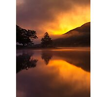 Sunrise On Loch Voil Photographic Print