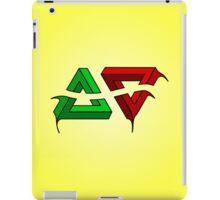 Penrose Triangles - Optical Illusion iPad Case/Skin