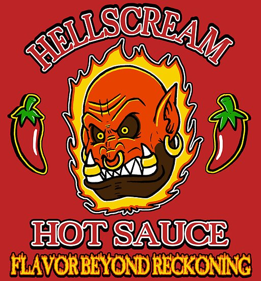 Hellscream Hot Sauce by Macaluso