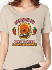 Hellscream Hot Sauce Women's Relaxed Fit T-Shirt