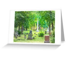 Summer Cemetery Greeting Card
