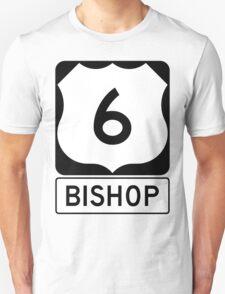 US 6 - Bishop California T-Shirt