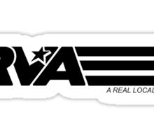 RVA - A Real Local Hero! Sticker