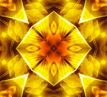 Golden Harmony 3 by MSRowe Art and Design