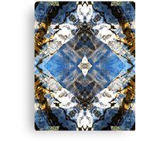 Aquatic Lace 2 Canvas Print
