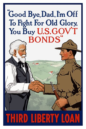 I'm Off To Fight For Old Glory -- WWI by warishellstore