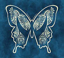 Henna Butterfly No. 1 by Joey Gates