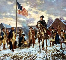 Washington At Valley Forge by warishellstore